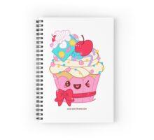 Cutie Cupcake Spiral Notebook