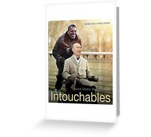 "Putin And Obama in ""Les Intouchables"" Greeting Card"
