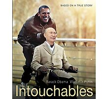 """Putin And Obama in """"Les Intouchables"""" Photographic Print"""