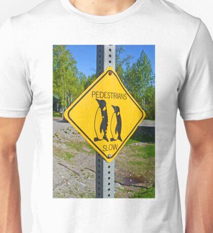 Slow Pedestrians Unisex T-Shirt