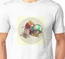 McMario's Mushroom Meal Unisex T-Shirt