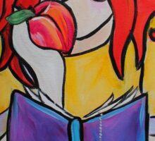 Sweet Peach Reader Sticker