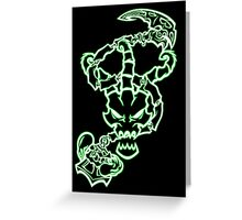 Shinigami Reaper (Light) Greeting Card