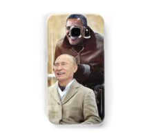 """Putin And Obama in """"Les Intouchables"""" Samsung Galaxy Case/Skin"""