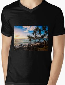 Greenmount Skies Mens V-Neck T-Shirt