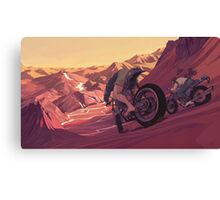 Strange Sunset Canvas Print