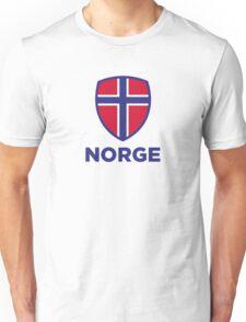 National Flag of Norway Unisex T-Shirt