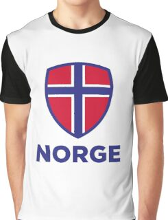 National Flag of Norway Graphic T-Shirt