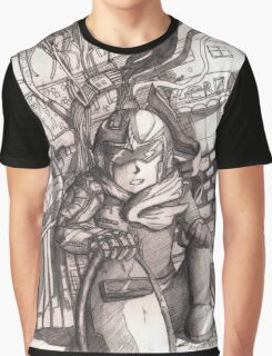Dusty Protoman Graphic T-Shirt