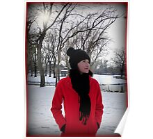 Red Coat Poster