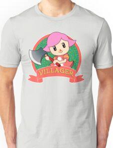 Animal Crossing: Girl Villager Unisex T-Shirt