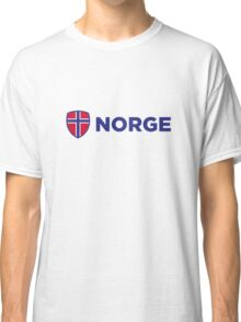 National Flag of Norway Classic T-Shirt