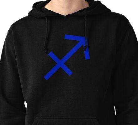 Sagittarius Symbol Pullover Hoodie