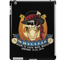 SHIPROCKED METAL PUNK ROCK FESTIVAL iPad Case/Skin