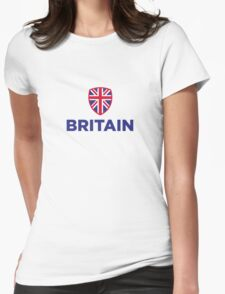 National flag of Great Britain Womens Fitted T-Shirt