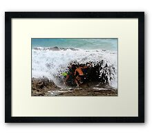 No One Will Find Us If We Hide In Here Framed Print