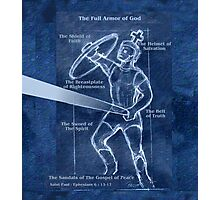 Full Armor of God - Warrior 4 Photographic Print