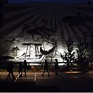 High Line, Night View, New York City's Elevated Garden and Park by lenspiro