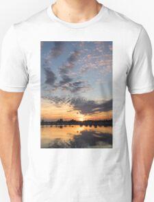 Smoky Apricot Sunset Unisex T-Shirt