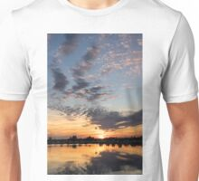 Smoky Apricot Sunset Unisex T-Shirt