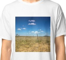 Golden Grass and Blue Skies Classic T-Shirt