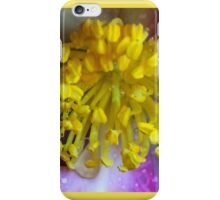 Raindrops on Stamens iPhone Case/Skin