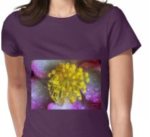 Raindrops on Stamens Womens Fitted T-Shirt