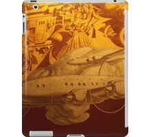 Classic Transportation Mural, Rockefeller Center, New York City iPad Case/Skin