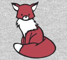 Little Red Fox Kids Tee