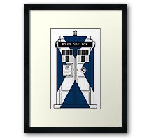 Scottish Police Public Box Framed Print