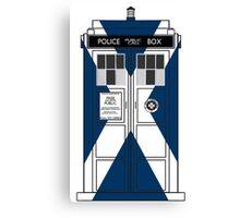 Scottish Police Public Box Canvas Print