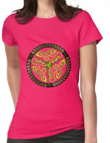 Canine Triskelion Womens Fitted T-Shirt