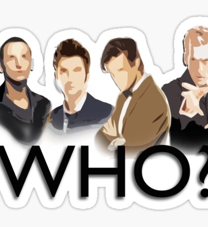 Who? Sticker
