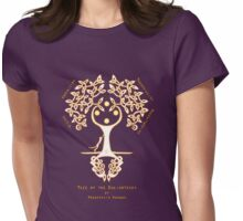 Tree of the Enlightened Womens Fitted T-Shirt