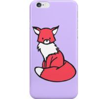 Little Red Fox iPhone Case/Skin