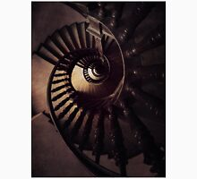 Ornamented spiral staircase in brown tones Classic T-Shirt