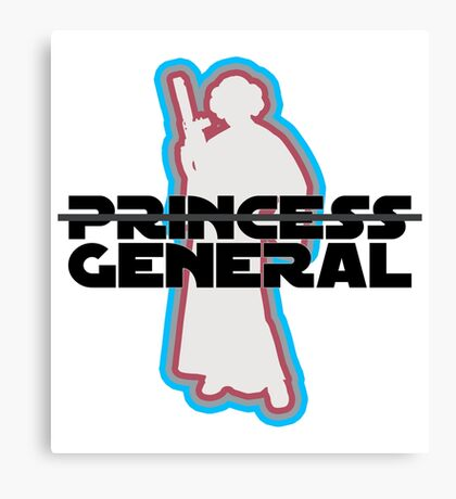 """Princess—General, Sorry."" Canvas Print"