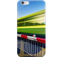 Fast train iPhone Case/Skin