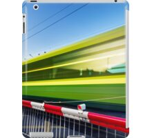 Fast train iPad Case/Skin