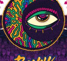 Buku Art Music festival Hip hop  Sticker