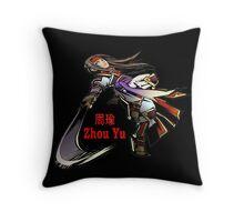 Zhou Yu Throw Pillow