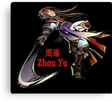 Zhou Yu Canvas Print