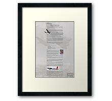 WW2 Warbirds part1 Framed Print