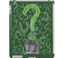 Riddlers Trophy iPad Case/Skin