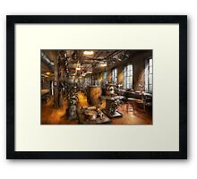 Machinist - Industrious Society Framed Print