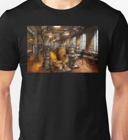 Machinist - Industrious Society Unisex T-Shirt