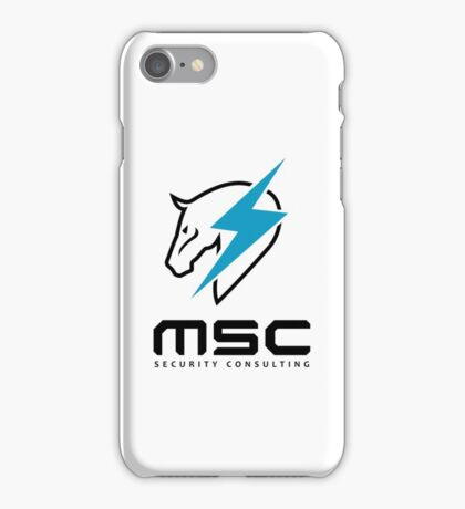 Metal Gear Rising - Maverick Security Consulting iPhone Case/Skin