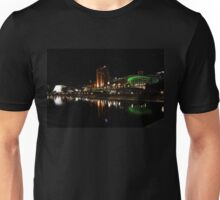 Adelaide's Riverfront by Night Unisex T-Shirt