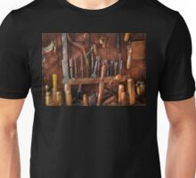 Woodworker - Old tools Unisex T-Shirt