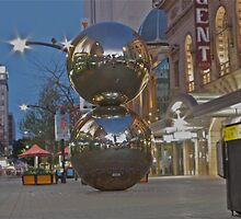 Rundle Mall's got balls, big ones. by Ferenghi
